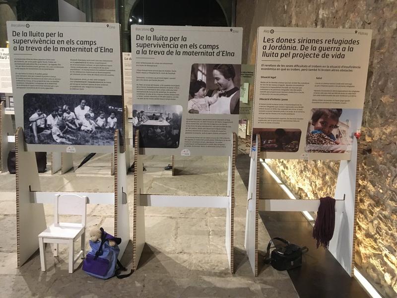 Exposició: Barcelona-Elna. Alep-Mafraq. Refugiades de Lluny i de Prop